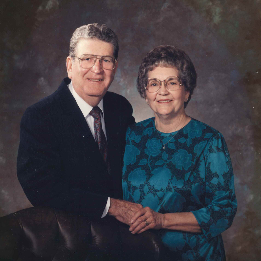 Eldon and Mary Hixson